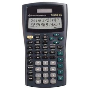 SCIENTIFIC CALCULATOR TI-30X IIS