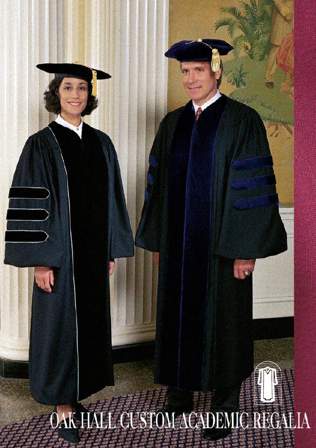 Professors in Regalia