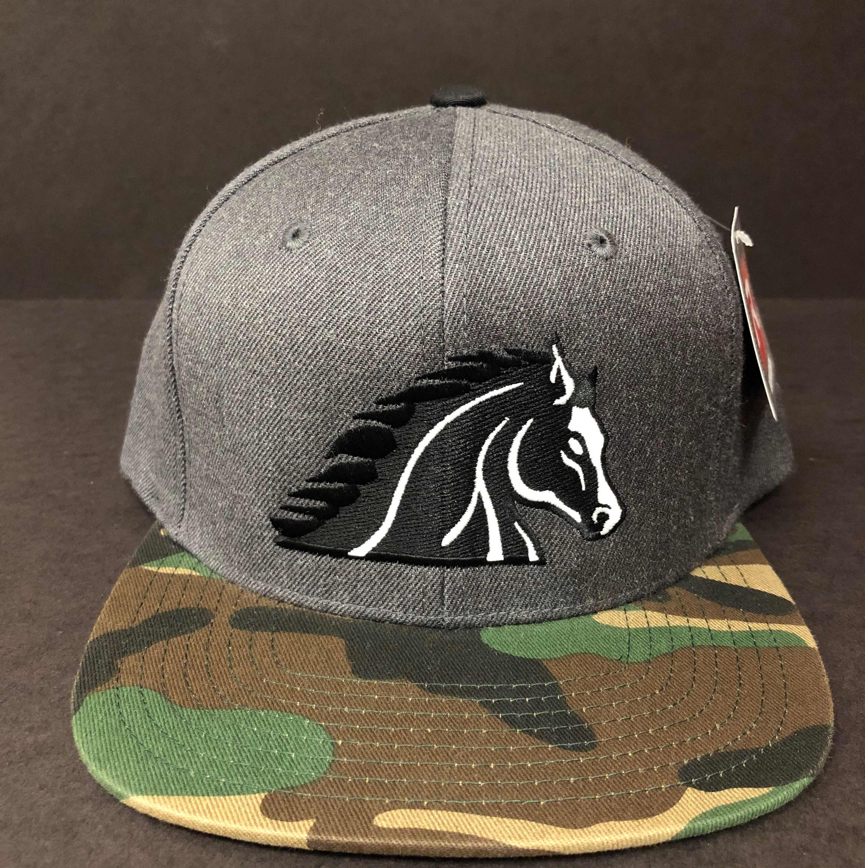 Image For GRAY/CAMO SNAPBACK