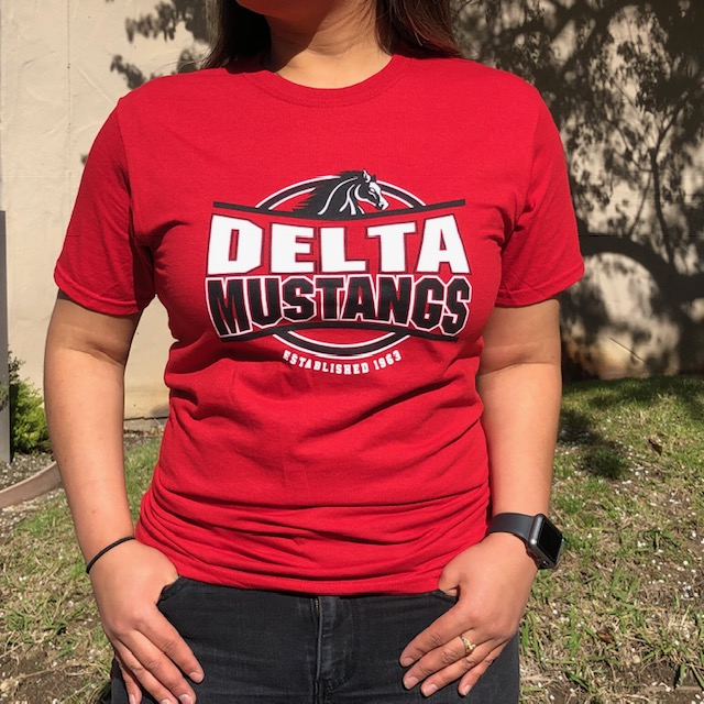 Image For RED DELTA MUSTANGS 1963