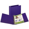"""Image for 1"""" BINDER PURPLE VIEW"""